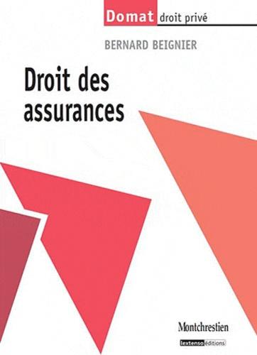 Bernard Beignier - Droit des assurances.