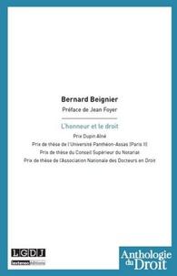 Bernard Beignier - L'honneur et le droit.