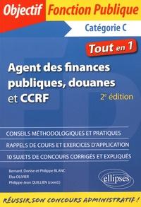 Bernard Blanc et Denise Blanc - Agent des finances publiques, douanes et CCRF - Catégorie C.