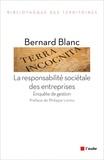 Bernard Blanc - La responsabilité sociétale des entreprises - Enquête de gestion.