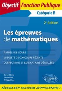 Les épreuves de mathématiques aux concours - Catégorie B.pdf