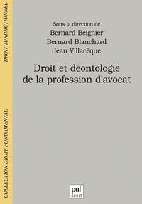 Droit et déontologie de la profession davocat.pdf