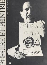Bernard Blistène et Jean-Pierre Bobillot - Poésure et peintrie : d'un art, l'autre - Exposition, Centre de la Vieille Charité de Marseille, 12 février-23 mai 1993.