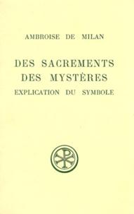 Bernard Botté et  Ambroise de Milan - .
