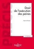 Bernard Bouloc - Droit de l'exécution des peines.