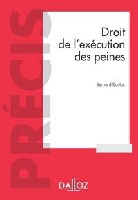 Bernard Bouloc - Droit de l'exécution des sanctions pénales - 6e ed..
