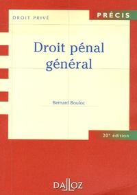 Téléchargez des ebooks gratuits pour iphone Droit pénal général in French MOBI ePub par Bernard Bouloc, Gaston Stefani, Georges Levasseur 9782247071487