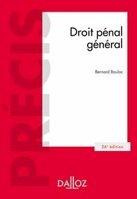 Bernard Bouloc - Droit pénal général.