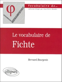 Histoiresdenlire.be Le vocabulaire de Fichte Image