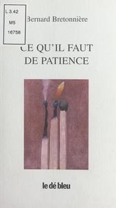 Bernard Bretonnière - .