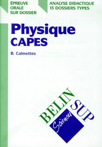 Bernard Calmettes - .