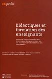 Bernard Calmettes et Marie-France Carnus - Regards des didactiques des disciplines sur les pratiques et la formation des enseignants.