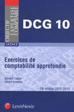 Bernard Caspar et Gérard Enselme - Exercices de comptabilité approfondie DCG 10.