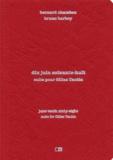 Bernard Chambaz - Dix juin soixante-huit - Suite pour Gilles Tautin.