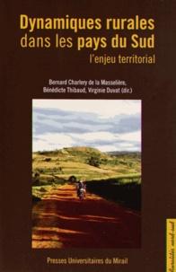 Bernard CharlerydelaMasselière et Bénédicte Thibaud - DynamiquesruralesdanslespaysduSud - L'enjeuterritorial.