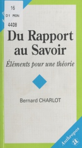 Bernard Charlot - .