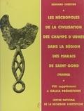 Bernard Chertier - Les nécropoles de la civilisation des champs d'urnes dans la région des marais de Saint-Gond (Marne).