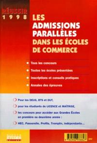 Deedr.fr LES ADMISSIONS PARALLELES DANS LES ECOLES DE COMMERCE 1998 Image