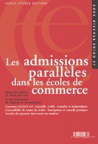 Alixetmika.fr Les admissions parallèles dans les écoles de commerce Image