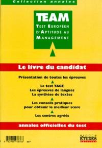 Rhonealpesinfo.fr TEAM LE LIVRE DU CANDIDAT. Annales officielles du test Image