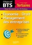 Bernard D'Angelo et Véronique Fierens-Vialar - Economie-Droit, Management des entreprises - Tout le cours en 75 fiches.