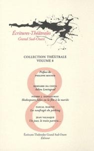 Bernard Da Costa et Pierre Jean Dangoumau - Adieu Leningrad ; Shakespeare folies ou La fête à la mariée ; Les naufragés du parking ; Un jour, le train partira....