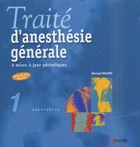 Bernard Dalens - Traité d'anesthesie générale à mise à jour périodiques - 2 classeurs. 1 Cédérom