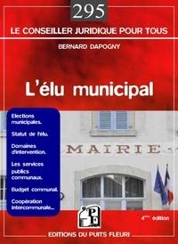 Bernard Dapogny et Marion Dapogny - L'élu municipal.