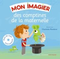 Bernard Davois et Jean-Philippe Crespin - Mon imagier des comptines de la maternelle. 1 CD audio