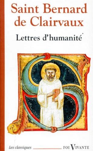 Bernard de Clairvaux - Lettres d'humanité.