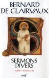 Bernard de Clairvaux - Oeuvres Complètes - Tome 23, Sermons divers. Tome 2 (sermons 23-69).