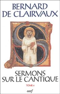 Bernard de Clairvaux - Sermons sur le Cantique - Tome 4, Sermons 51-68.
