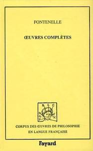 Bernard de Fontenelle - Oeuvres complètes - Tome 1, 1678-1757.
