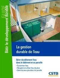 Bernard de Gouvello - La gestion durable de l'eau.