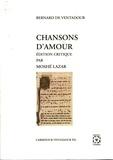 Bernard de Ventadour - Chansons d'amour de Bernart de Ventadorn.