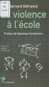 Bernard Defrance et Jacques Derrida - La violence à l'école.