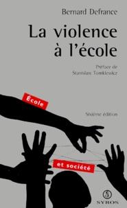 La violence à lécole. 6ème édition.pdf