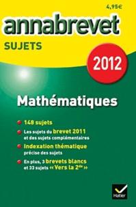 Bernard Demeillers - Mathématiques - Sujets.