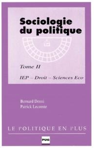 Bernard Denni et Patrick Lecomte - .