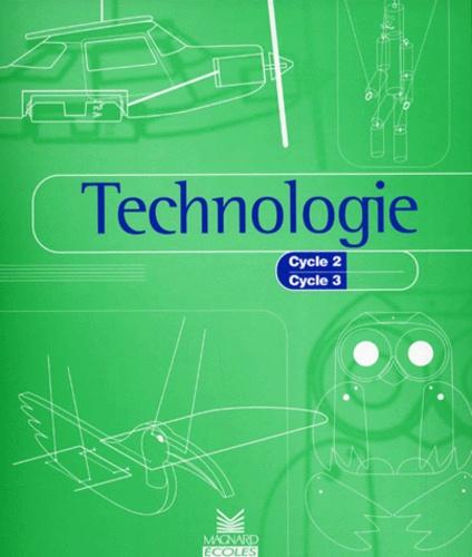 technologie  cycle 2  cycle 3 de bernard dimet - livre
