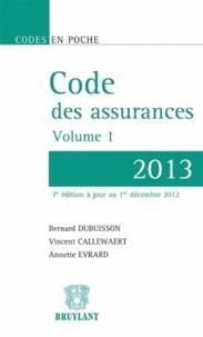 Code des assurances 2013 - 2 volumes.pdf