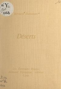 Bernard Dumontet - Déserts.