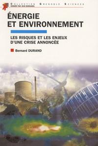 Rhonealpesinfo.fr Energie et environnement - Les risques et les enjeux d'une crise annoncée Image