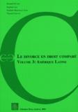 Bernard Dutoit et Raphaël Arn - Le divorce en droit comparé - Volume 3, Amérique Latine.
