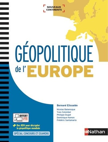 Geopolitique De L Europe Grand Format
