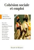 Bernard Eme et  Collectif - Cohésion sociale et emploi - [colloque, Paris, 17 juin 1993.
