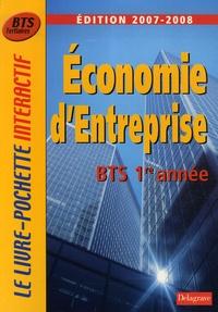 Bernard Epailly et Monique Boulet - Economie d'entreprise BTS tertiaires 1e année.