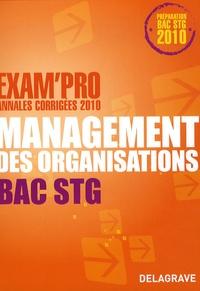Bernard Epailly - Management des organisations Bac STG.