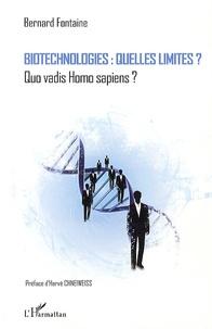 Alixetmika.fr Biotechnologies : quelles limites ? - Quo vadis Homo sapiens ? Image