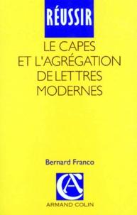 REUSSIR LE CAPES ET L AGREGATION DE LETTRES MODERNES. 2ème édition.pdf